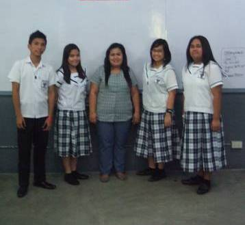 Regina Maria Montessori fourth year class officers