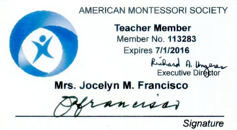 AMS ID of Jocelyn M. Francisco