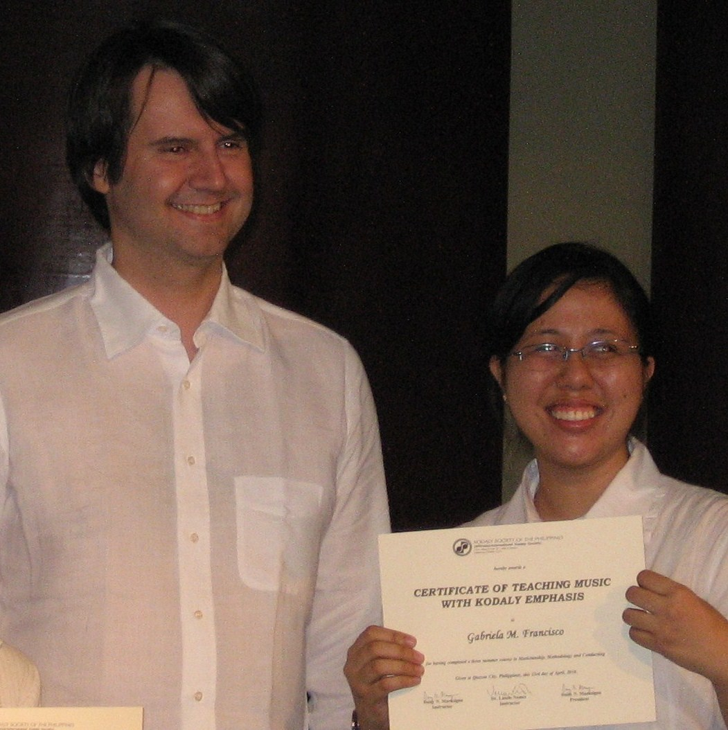 Dr. Nemesz Lazlo and Gabriela M. Francisco