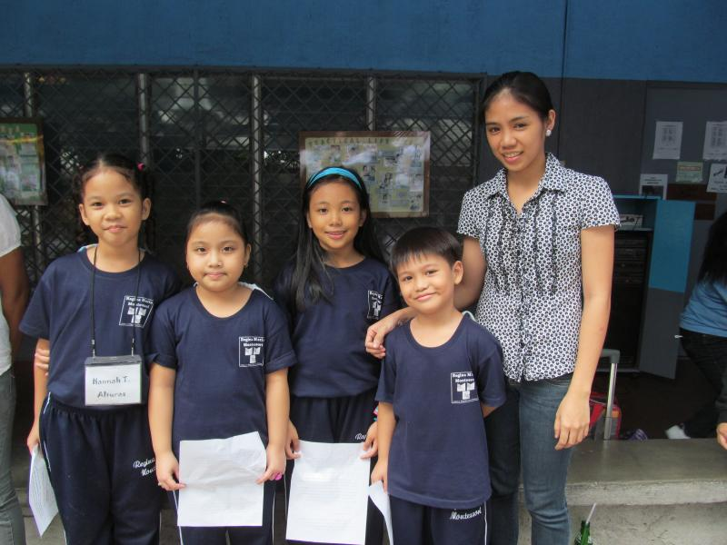 Regina Maria Montessori grade two class officers