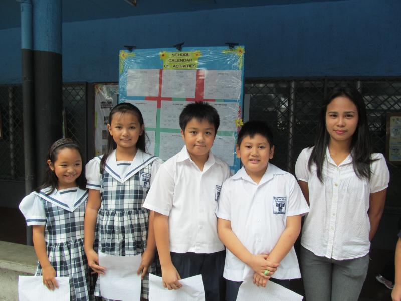 Regina Maria Montessori grade three class officers