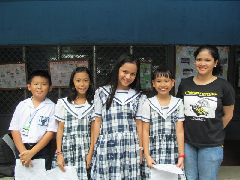 Regina Maria Montessori Grade Five class officers
