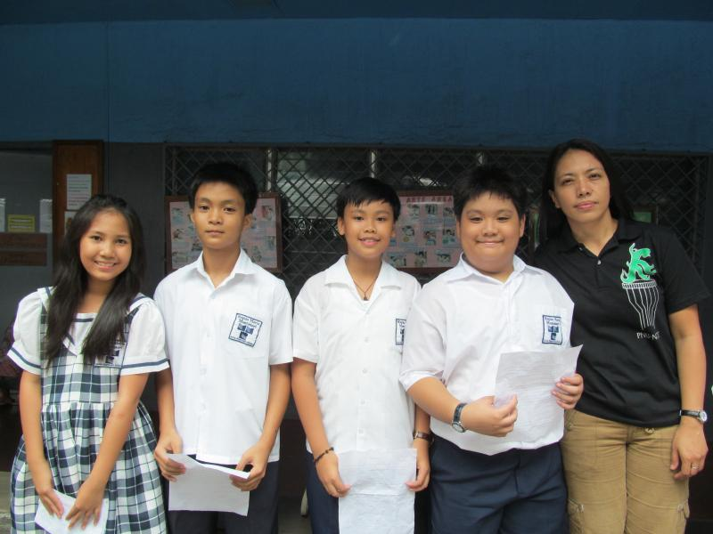 Regina Maria Montessori grade six class officers