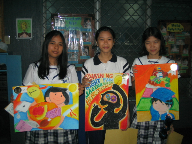 Nutrition Month Poster Making http://reginamariamontessori.org/student_achievers
