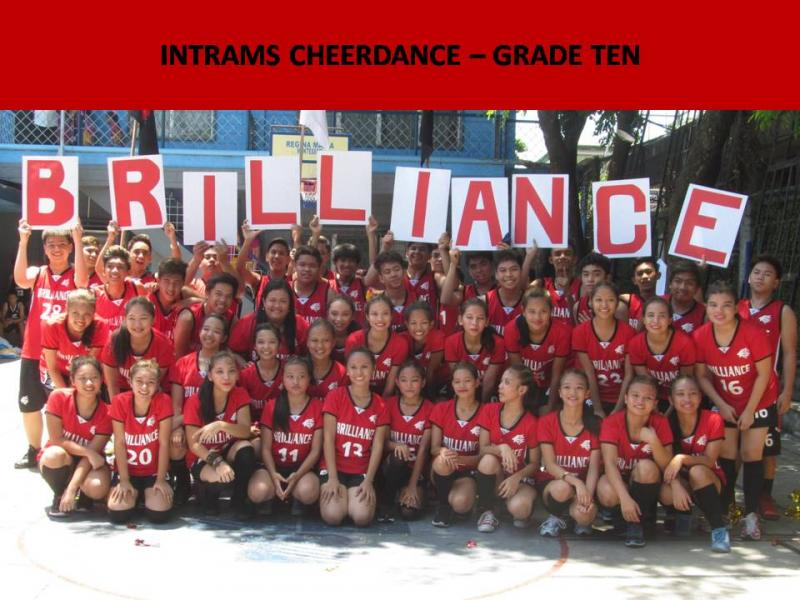 intrams cheerdance gr 10
