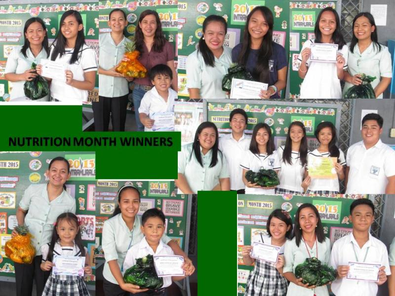 RMM nutrition month
