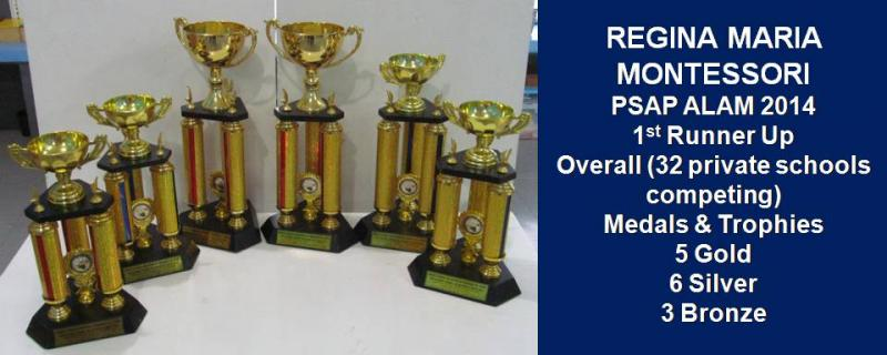 PSAP ALAM 2014 AWARDS SUMMARY