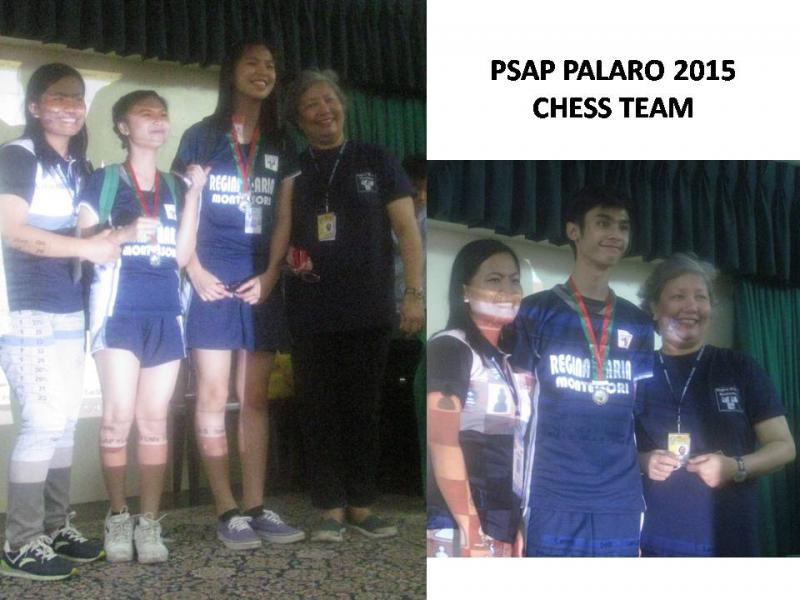 PSAP Palaro Chess Team