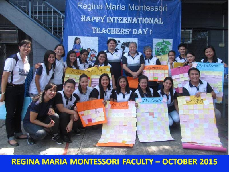 Teachers Day Oct 2015
