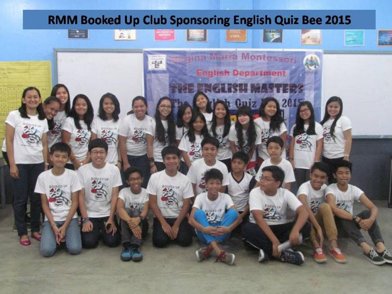 ENGLISH QUIZ BEE STAFF