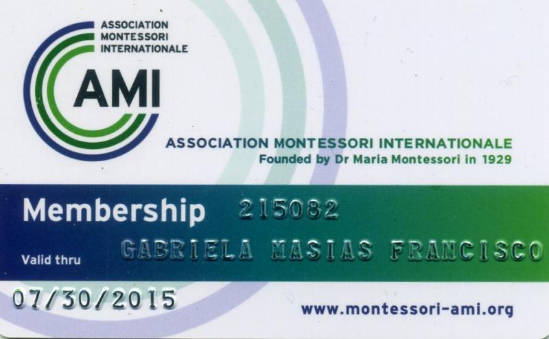 AMI ID of Gabriela M. Francisco