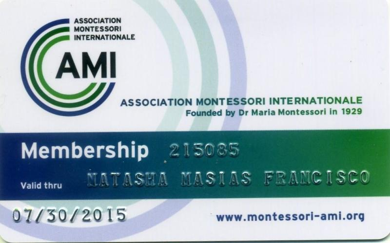 AMI ID of Natasha M. Francisco